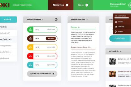 Koki. Web App
