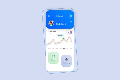 Crypto Dashboard #Hybrid App