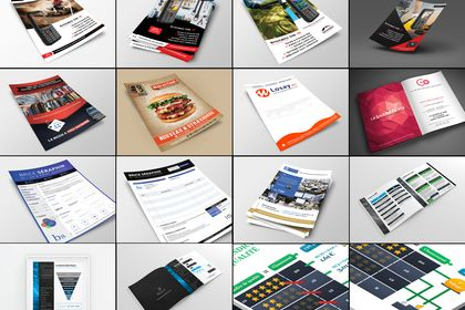 Flyers - Brochures - Infographies