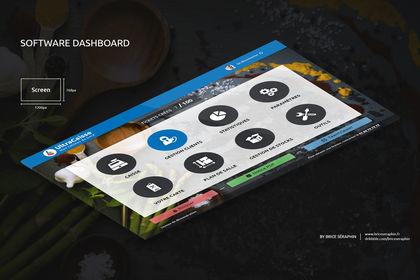Software Dashboard. UltraCaisse