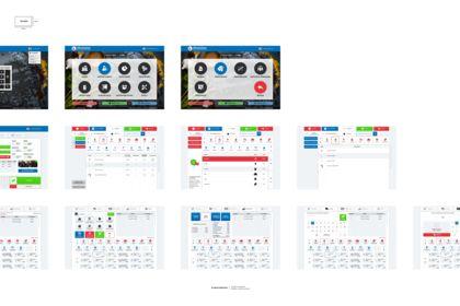 Dashboard Software Restaurant. UI / UX