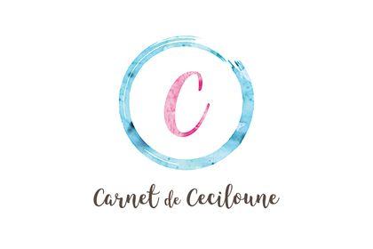 Logo. Carnet de Ceciloune