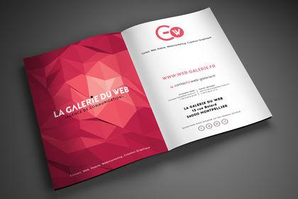 Brochure. Agence Web