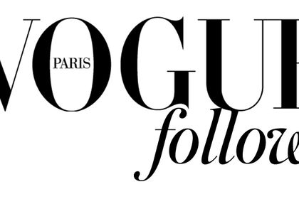 Vogue follows Paris