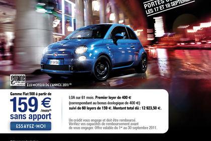 Emailing Fiat 500