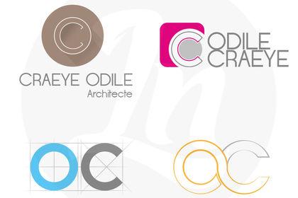 Propositions de logo pour une architecte