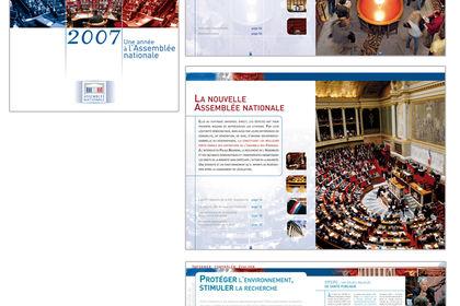 Rapport d'activités // Assemblée nationale
