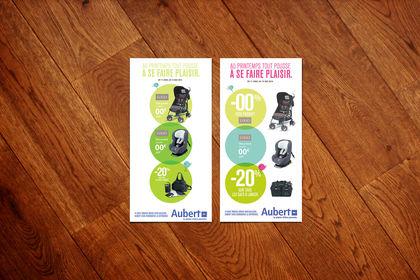 Aubert PLV magasin