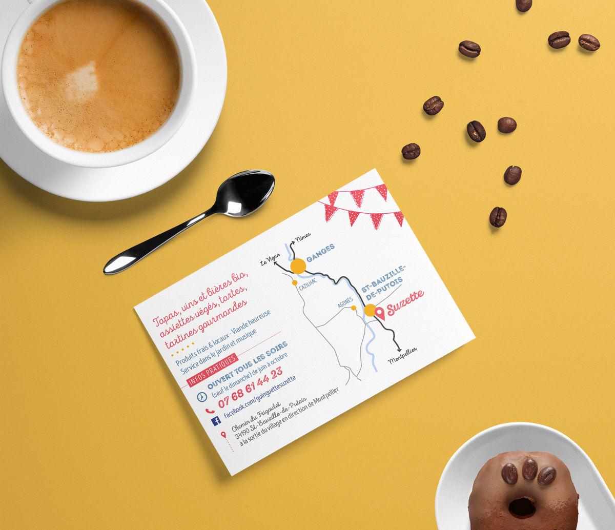 Guinguette Suzette / Carte