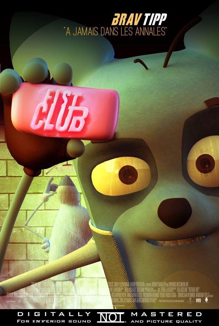 Détournement de l'affiche Fight Club