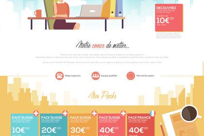 Web Design / +Connect