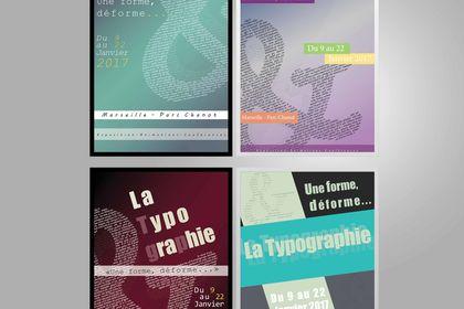 Affiche 4 versions