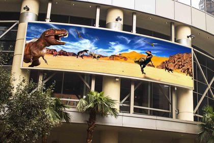 Exposition dinosaure et cro magnon