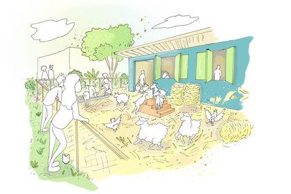 Illustration pour la future association Patapas