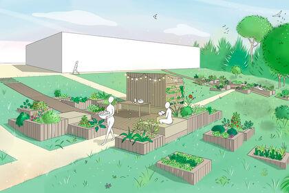 Illustration pour Chaumont Habitat