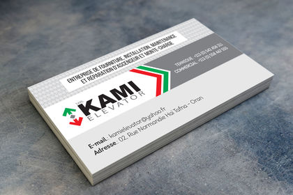 Carte visite Kami