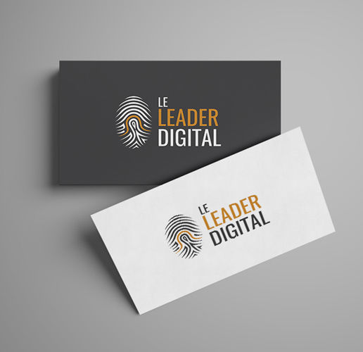 Leader Digital logo design