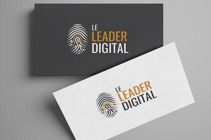 Leader Digital logo design