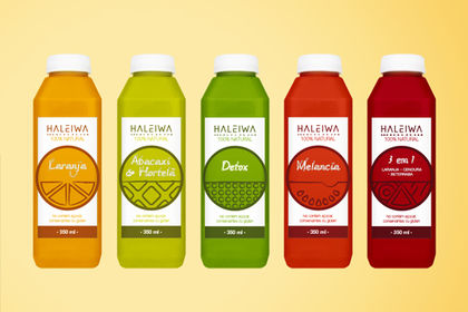 Haleiwa packaging jus de fruits