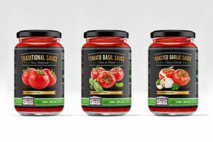 Zarky's marque de sauce tomate bio
