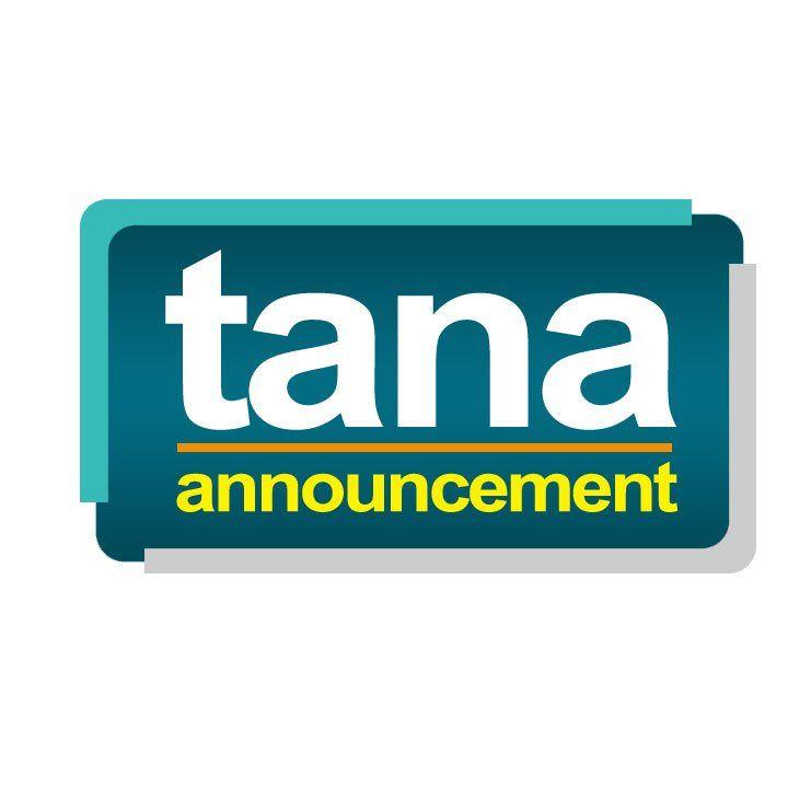 Logo Tana Announcement