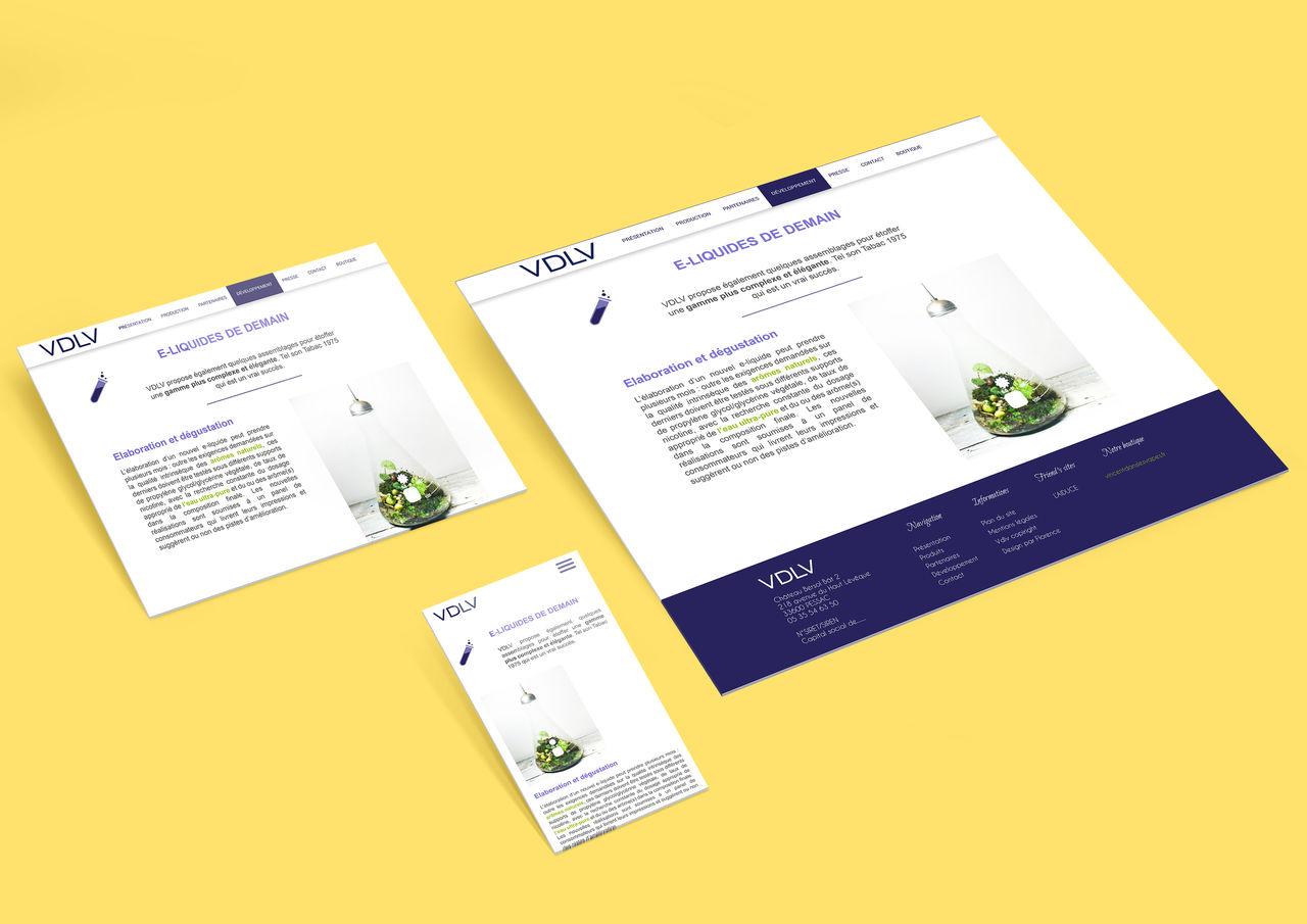 Webdesign pour VDLV