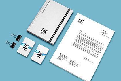 Logotype et identité pour l'association Rumeurs