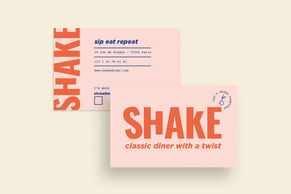Shake restaurant