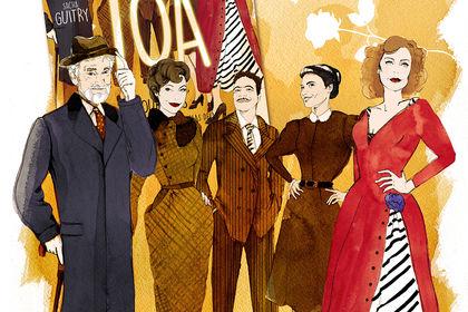 TOÂ, affiche de théâtre