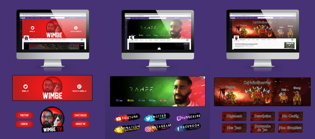 Refonte chaîne Twitch.