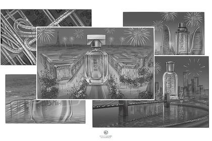 Storyboard Noir et blanc