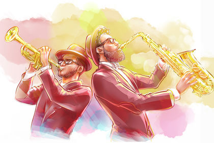 Illustration jazz