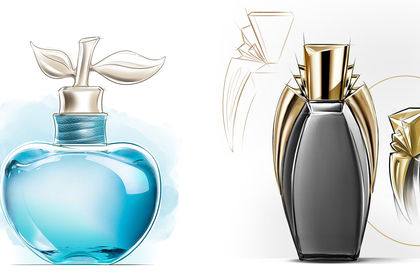 Rough design parfum