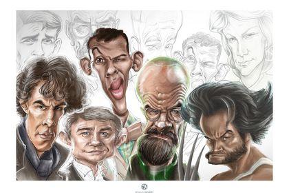 Caricatures numériques