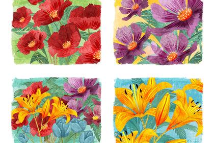 Carte postale Fleur