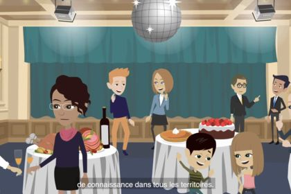 Vidéo animée