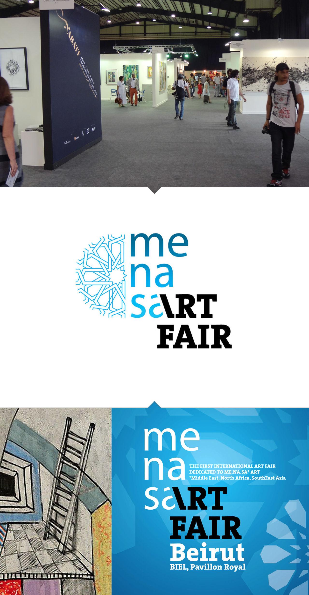 Logo et charte - Menasart Fair Beyrouth