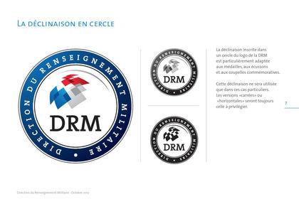 Direction du Renseignement Militaire, Logo/charte