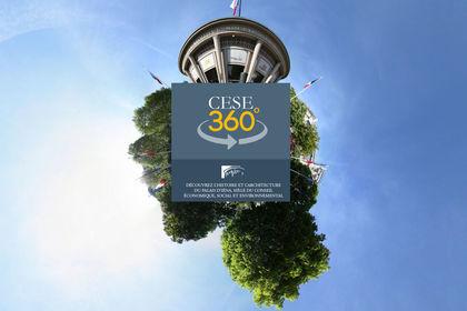 Le CESE - Visite virtuelle 360° du quartier