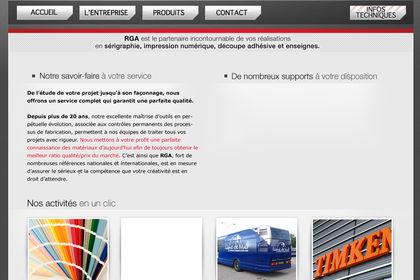 Charte graphique de site internet