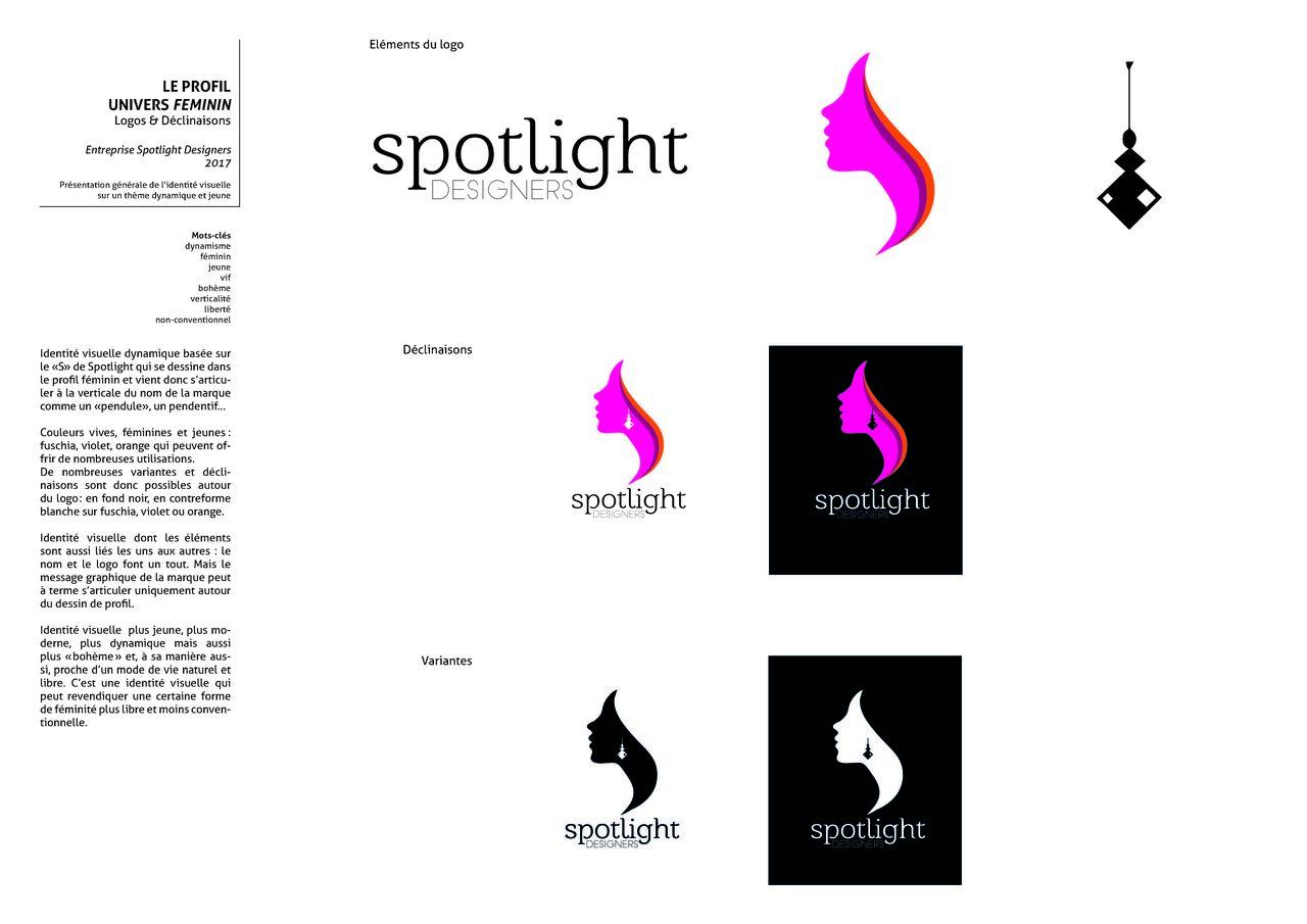 Proposition de logo pour une créatrice de bijoux