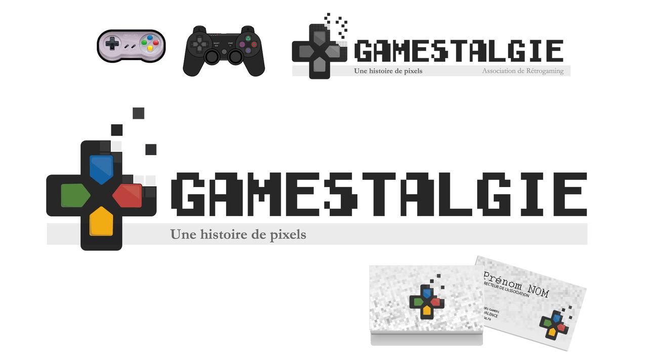 Logo Rétro-gaming