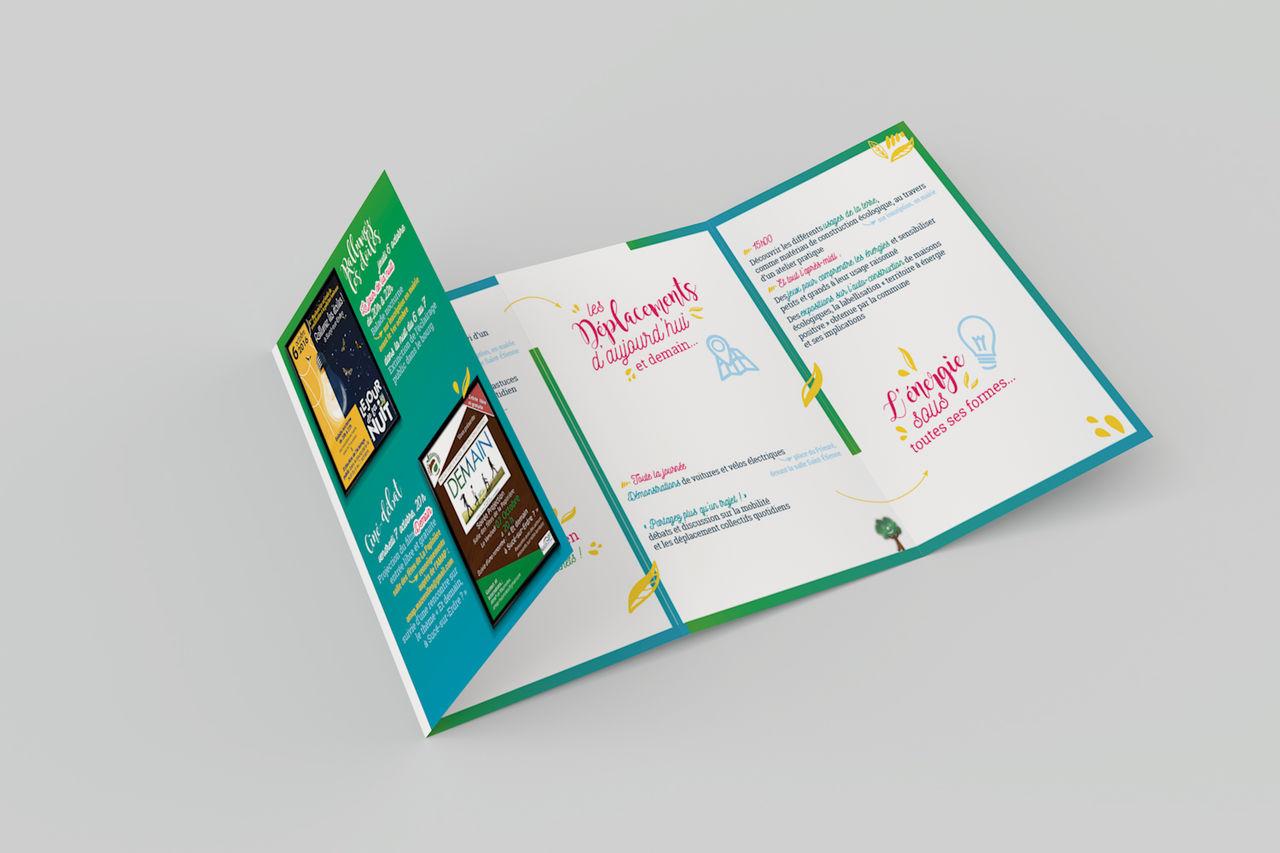 Affiche & Flyer • Fête du développement durable