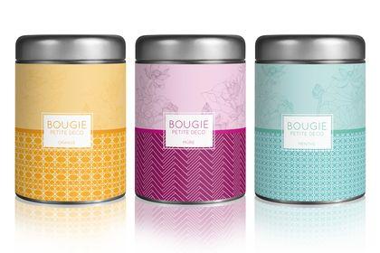 Packaging bougies parfumée
