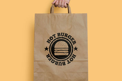 Logo hot burger
