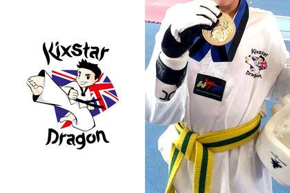 Logo - Club de taekwondo Kixstar