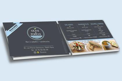 Flyer - Bar à salades
