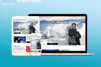 Site web Richard Orlinski