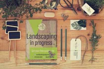 Mockup // Cartes de visite - Poster Design