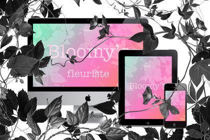 Identité visuelle Bloomy's Fleuriste
